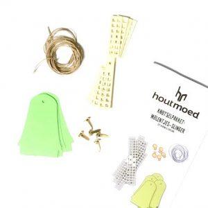 maak je eigen molen slinger van recycle papier