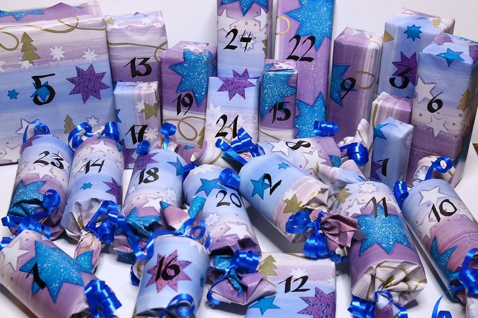 24 pakjes zelf maken advent tot kerstavond