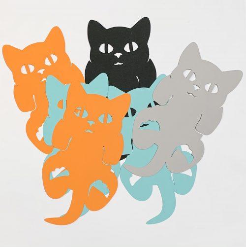 gezellige boekenleggers voor kattenliefhebber