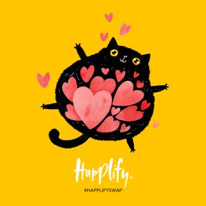Spread the love met de secret valentine swap van happily