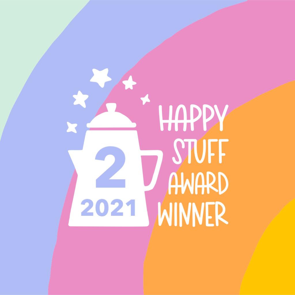 happy stuff award winner