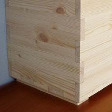 ambachtelijk meubelmaken zorgt voor superstrakke verbindingen